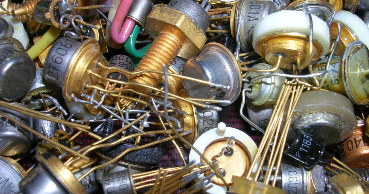 радиодетали драг металлы
