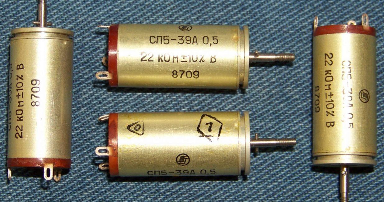 резисторы сп